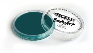 Global Body Art Face Paint - Standard Green Deep 32gr