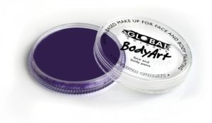 Global Body Art Face Paint - Standard Purple 32gr
