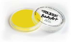 Global Body Art Face Paint - Standard Yellow 32gr