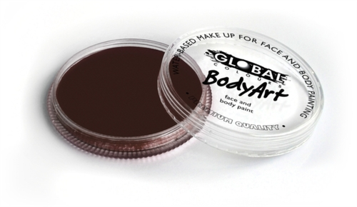 Global Body Art Face Paint - Standard Rose Brown 32gr