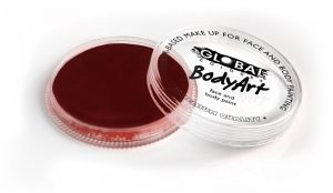 Global Body Art Face Paint - Standard Deep Merlot 32gr