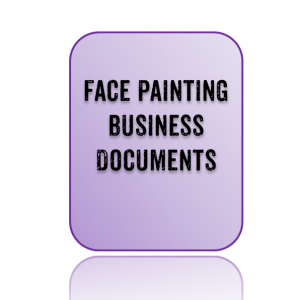 Face Painting Business Documents