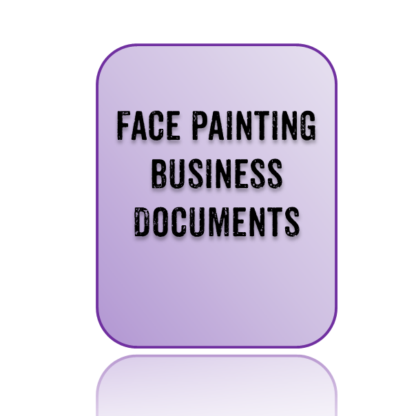 Face painting business documents for Face painting business