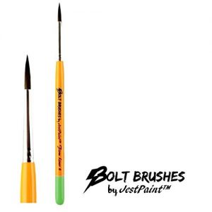 BOLT Face Painting Brushes by Jest Paint – FIRM Liner #4
