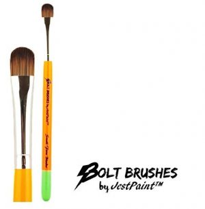 BOLT Face Painting Brushes by Jest Paint – Small FIRM Blender