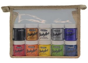 Bundle – Face Paint Kit – 10 Liquid Paints by Global Body Art