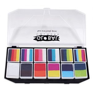 Global BodyArt – Carnival Face Painting Kit